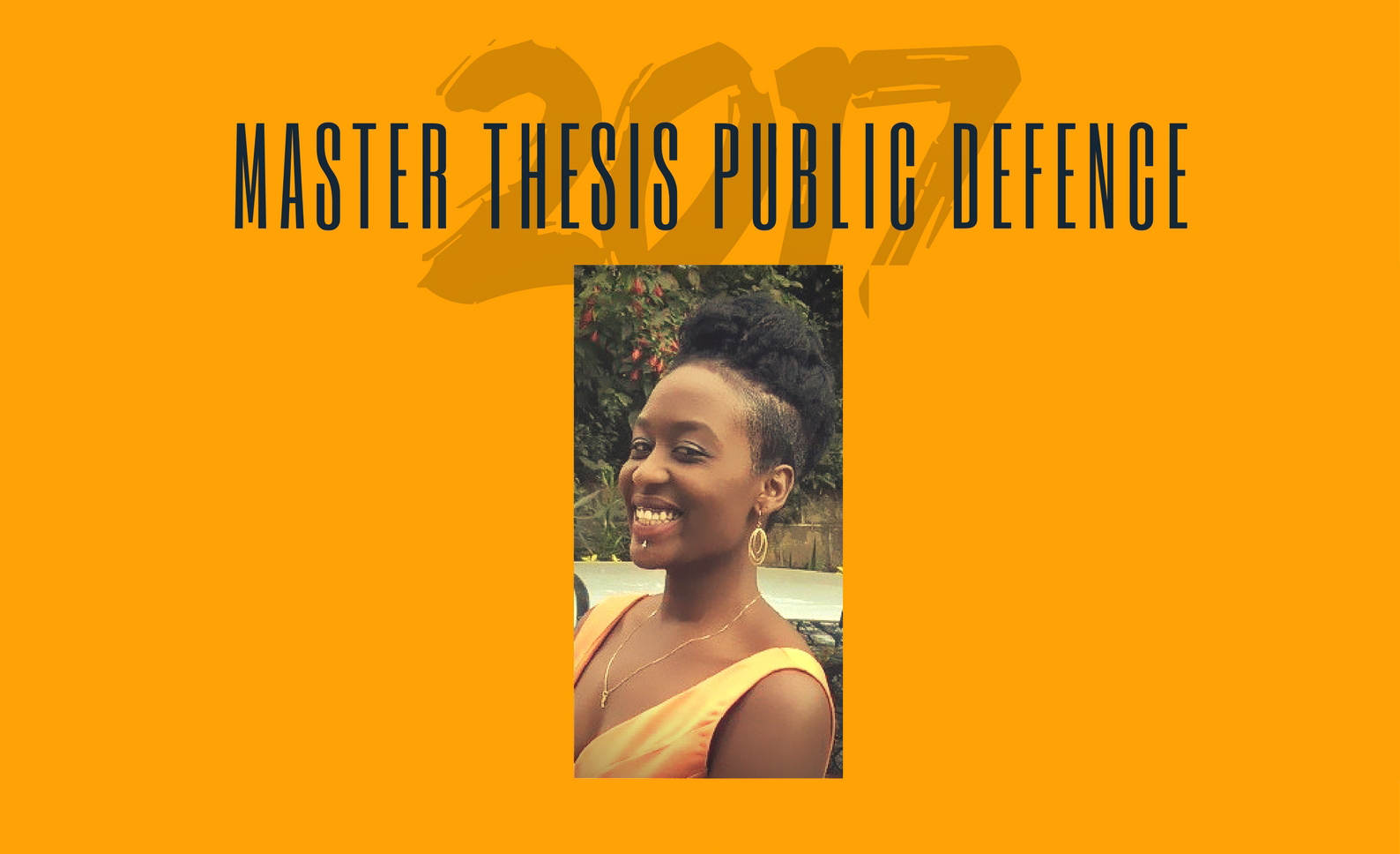MSc Thesis Public Defence: Tuesday 27/6, Kanyali
