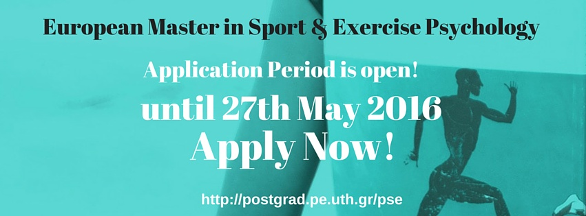 Application period for the Master is open until 27th May 2016!