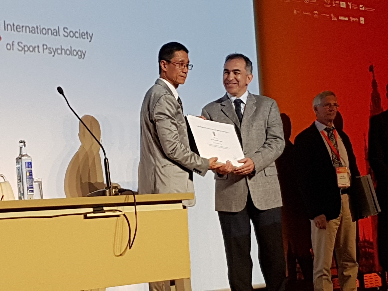Professor A. Papaioannou received the Honor Award of the International Society of Sport Psychology (ISSP)!