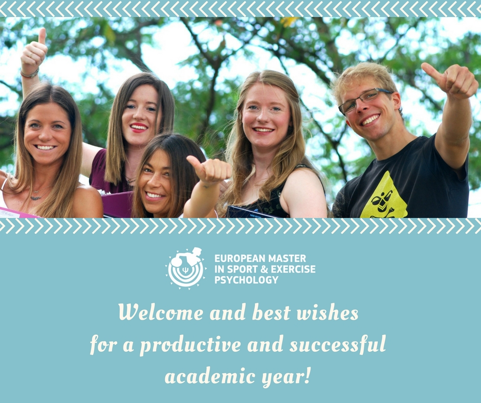 A warm welcome to our new postgraduate students!